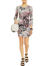 Jonathan Saunders Printed Jersey Dress Size:XS Ret:$644 New w/Tags Made in Italy