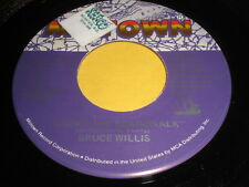 "Bruce Willis: Under The Boardwalk / ""Jackpot"" (Bruno's Bop) 45"