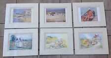 6 Beach Shore Meadow Double Matted Prints Still Wrapped,8x10 Portal Publications