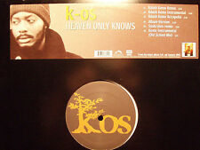 "K-OS - HEAVEN ONLY KNOWS (+KEMO & SAUKRATES REMIXES) (12"")  2002!!!  RARE!!!"