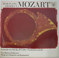 "MOZART SERENADE NR. 9 POSTHORNSERENADE EDOUARD VAN REMOORTEL 12"" LP (f260)"