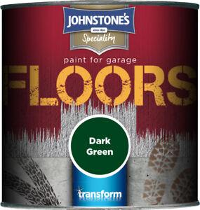 Johnstone's Garage Floor Paint Semi Gloss 250ml 750ml 2.5L Floor Paint