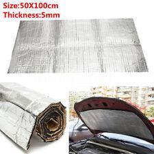Auto Car Sound Proofing Deadening Insulation Heat 5mm Foam Glass Fibre 50X100cm