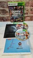 Grand Theft Auto V 5 (Microsoft Xbox 360, 2013) - GTA - Includes Map - Free P&P