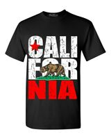 California Vintage T-shirt Bear State Cali Pride Souvenir Shirts
