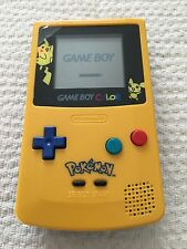 Nintendo Game Boy Color Pokemon Pikachu Limited Edition Gelb Handheld System