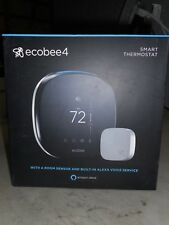 Ecobee 4 Smart Thermostat with Room Sensor and Built-in Alexa Voice Service