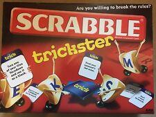 MATTEL SCRABBLE TRICKSTER BOARD GAME. 100% COMPLETE. 2010