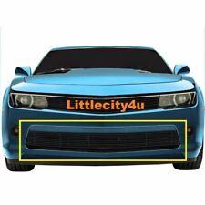 FOR 14-15 Chevy Camaro SS Black Billet Grille Bumper Insert