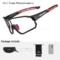 RockBros Photochromatic Cycling Glasses Full Frame Sports Sunglasses Goggles