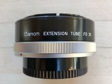 Canon extrension tube FD 25, 50 mm, f.3.5 macro, w/ front cap, clean, fast ship.