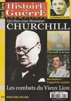 Histoire de Guerre HS n° 5 Hors Série 2002 - Qui êtes vous Monsieur CHURCHILL