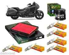 Pack Révision Filtre Huile Air Bougie Honda GL 1800 Goldwing ABS 2003-2016