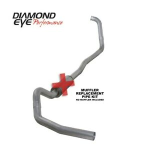 Diamond Eye Exhaust System Kit, 2003-2007 Ford 6.0L Powerstroke F250/F350 (All