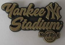 Hard Rock Cafe Yankee Stadium Core Destination Name Series Pin 2017
