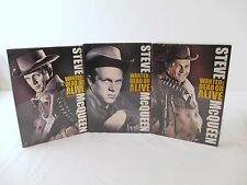 New SEALED Seasons 1-3 WANTED DEAD OR ALIVE Steve Mcqueen DVD