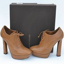 BOTTEGA VENETA New sz 39.5 - 9.5 $950 Designer Womens Lace Up High Heels Shoes