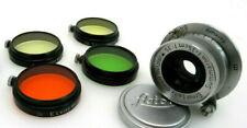Leitz Leica M39 Summaron 3,5cm f3,5 35 mm 1017228 5x Zubehör jp077