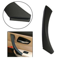 Black Right Inner Door Panel Handle Pull Trim Cover For BMW E90 3-Series / Wagon