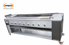 Automatic Conveyor rotissrie Grill For Commercial Kebab ChickenTikka Production
