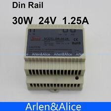 30W 24V 1.25A Din Rail Single Output Switching power supply 100V-240V