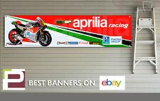 Aprilia Racing Banner, Motogp, RS-GP, Workshop, Garage, Man Cave,