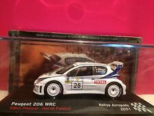 SUPERBE PEUGEOT 206 WRC RALLYE ACROPOLIS 2001 NEUF BOITE SOUS BLISTER 1/43