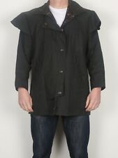 "W K Backhouse (BARBOUR) Wax Horse Riding Jacket 38"" Small Medium Blue Navy (C1F)"