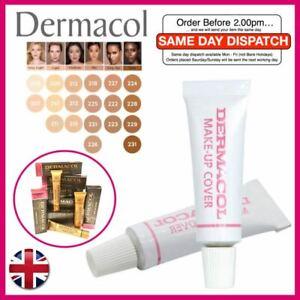 Genuine DERMACOL Make-up Cover High Covering Foundation Concealer Makeup Tester