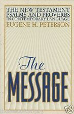 The Message New Testament Psalms and Proverbs in Contemporary Language (NEW)