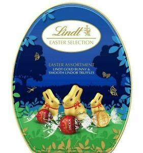 Lindt Bunny & Truffles Box Easter Selection Chocolate Gift 330g BBE 30/06/21