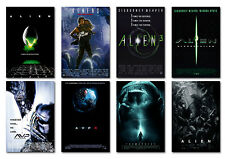 alien, aliens, avp movie Postcard card Set 8pcs