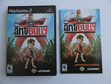 NO GAME- PS2 THE ANT BULLY - CASE & MANUAL ONLY - NO GAME