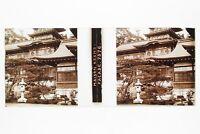Giappone Japan Casa Osano Placca Da Lente Stereo Vetro Stereoview Positivo