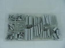 200pc Extension Compression Steel Spring Assortment Kit Carburetor Flat Hoop