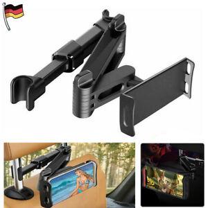 Auto KFZ Kopfstütze Halterung Halter 360° für iPad Smartphone Tablet 4-10,5 Zoll