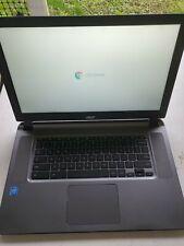 "2018 Acer N15Q9 15.6"" Chromebook 15 Laptop 4GB 16GB CB3-532-C8DF used"