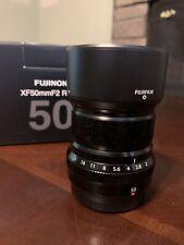 New listing Fujifilm Xf 50mm F/2 R Wr Lens - Mint