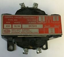 Hevi-Duty D47649 Type Szo Kva.050 50/60Hz Control Circuit Transformer