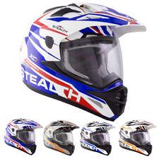 Stealth Hd009 Xc1 Motocross Helmet MX Motorcross Dirt Bike Enduro Quad Graphic
