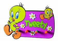 Looney Tunes Tweety Kindergarderobe Wandhaken Garderobe 23x33x4 cm