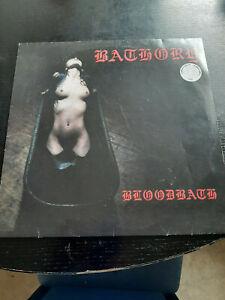 Bathory Bloodbath LP, 2010, Nummeriert, First Press Colored Vinyl