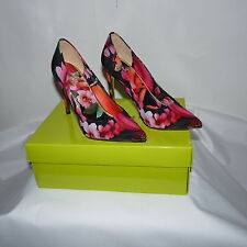 100% Authentic Ted Baker London Neevo 3 Floral Pointed Heeled Court Size 7.5