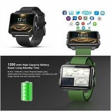 Smart Watch Blood Pressure Monitor GPS Sim Card Support Wi-Fi Capable Caller ID