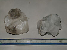 Lot of 2 Apophyllite Crystals Prospect Park NJ Natural Mineral Display Specimen