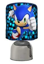SONIC THE HEDGEHOG LIGHT TOUCH LAMP  KIDS  ROON MATCHES DUVET SET GAME FREE P&P
