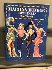 Marilyn Monroe Paper Dolls Tom Tierney 1979 UNCUT 31 Costumes