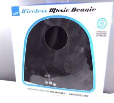 iLive Bluetooth Wireless Knit Stocking Beanie with Microphone (iAkb45B) Black