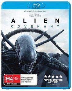 Alien Covenant BLU RAY - Australian Region B