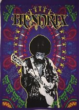 Small Hippie Poster Tapestry Jimi Hendrix Cotton Guitar Singer Wall Door Hanging